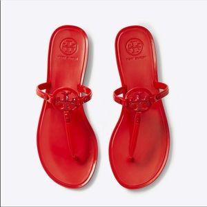 TORY BURCH 🔴 Miller Jelly Thong Sandal